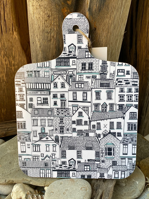 Coastal Cottages Chopping Board