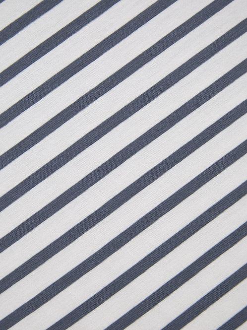 Chalk Luna Pants - Charcoal Stripe