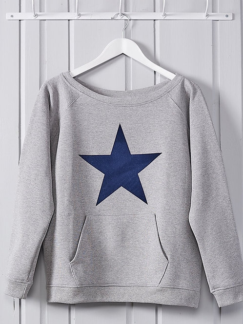 Grey Marl Tina Sweatshirt