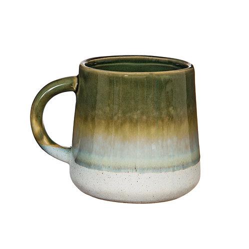 Green Ombre Glaze Mug