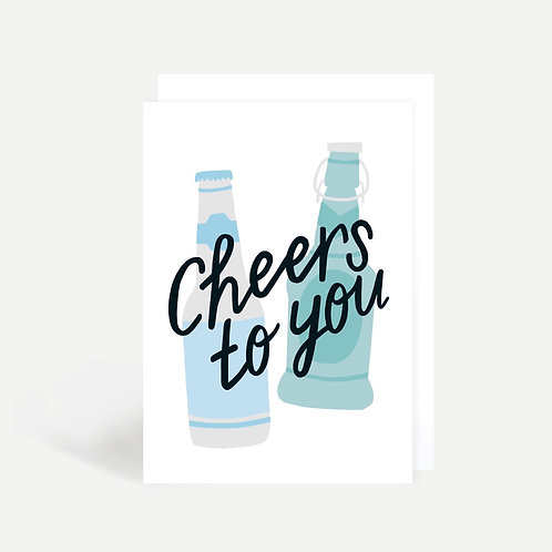 'Cheers to You' Card