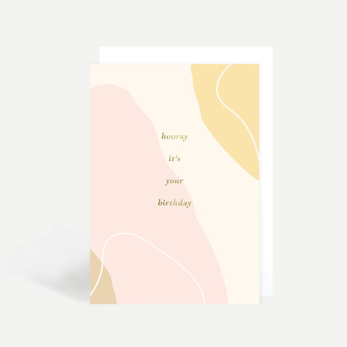 'Hooray It's Your Birthday' Card