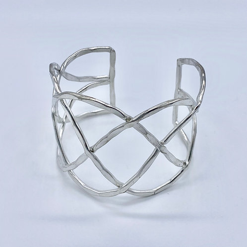 Criss-Cross Cuff Bracelet