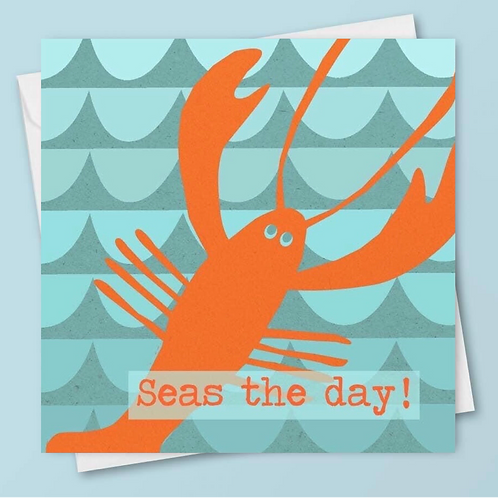 'Seas the Day!' Card