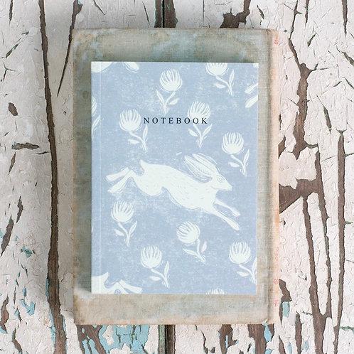 Sam Wilson A6 Notebook - Running Hare