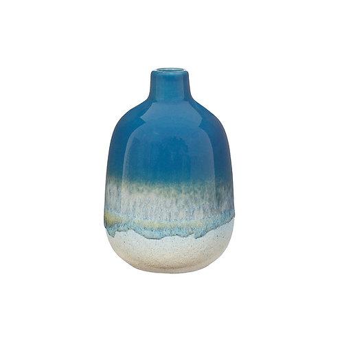 Blue Ombre Glaze Vase