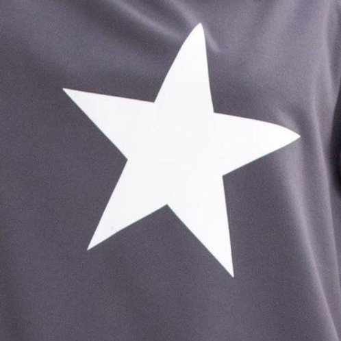 Chalk Nancy Sweatshirt - Charcoal/White Star