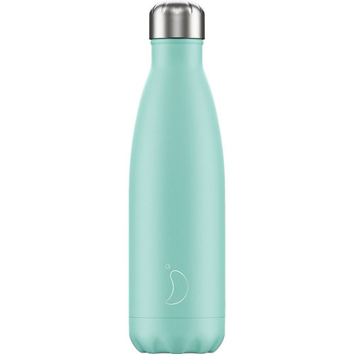 500ml Chilly's Water Bottle - Pastel Green