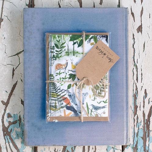 Sam Wilson Notecard Set (5) - In The Woods