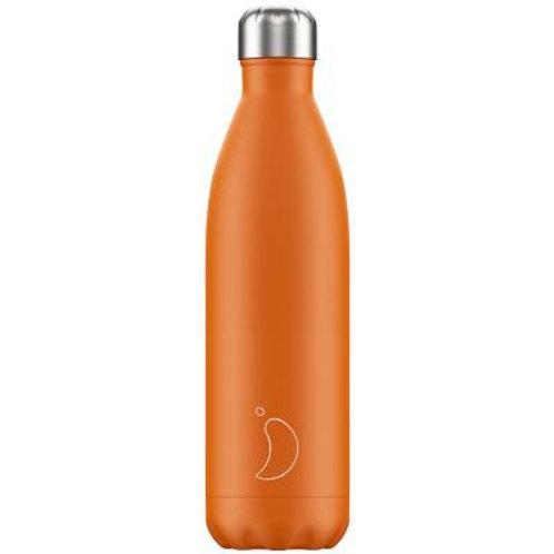 500ml Chilly's Water Bottle - Burnt Orange