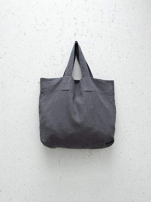 Chalk Charcoal Shopper Bag