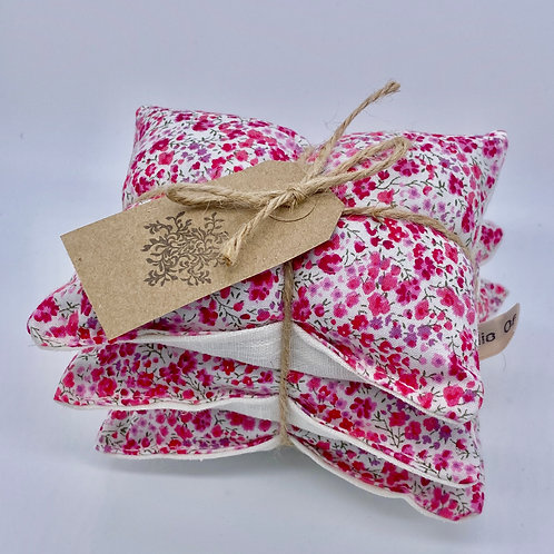 Lavender Drawer Sachets (3) - Liberty Pink