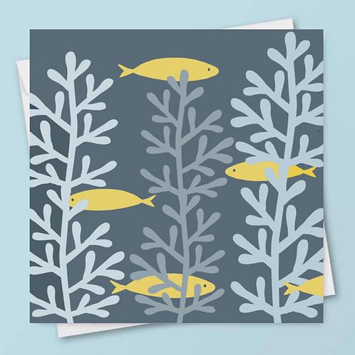 'Beneath the Waves' Card