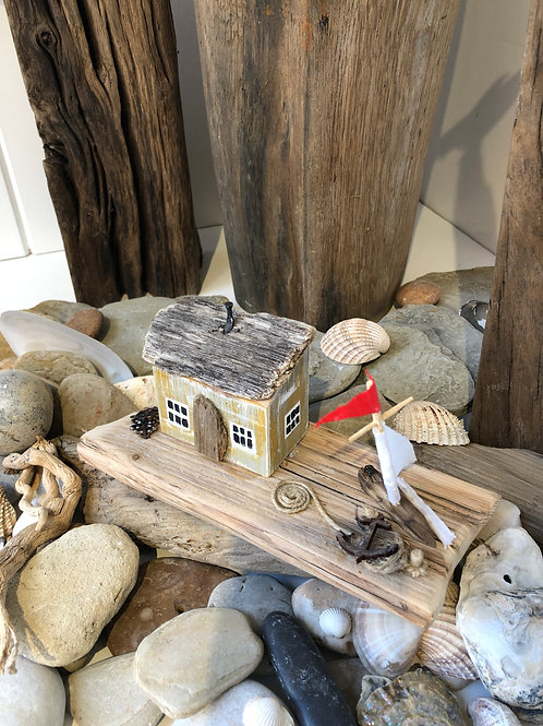 Small Handmade Driftwood Cottages