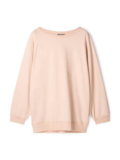 Chalk Nancy Sweatshirt - Dusky Pink