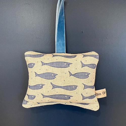 Lavender Door Hanger - Fishes