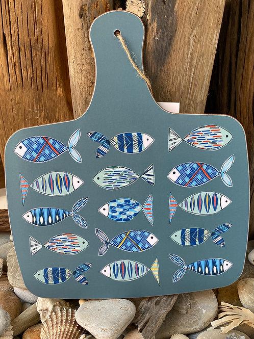 Fish Pattern Chopping Board
