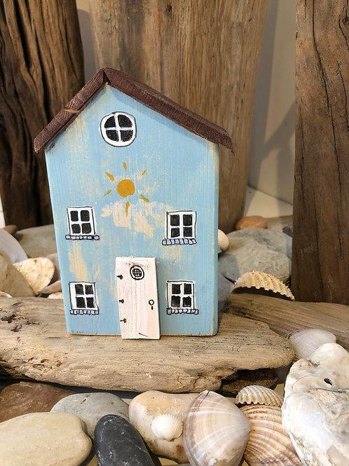 Medium Handmade Driftwood House
