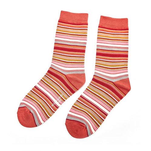 Miss Sparrow Stripes Socks