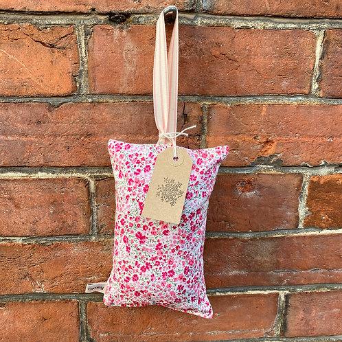 Lavender Sleep Pillow - Pink Liberty Print