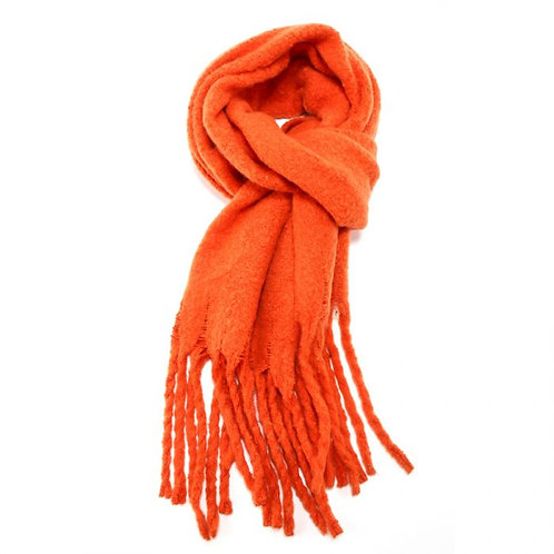 Orange Winter Scarf