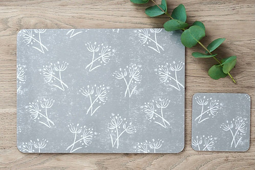 Sam Wilson Set of 4 Placemats - Parsley Seed