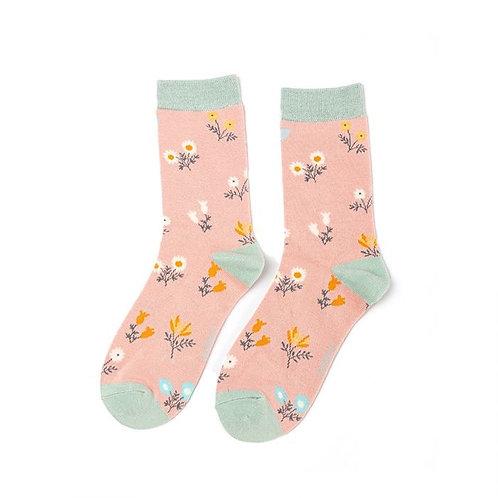 Miss Sparrow Floral Socks