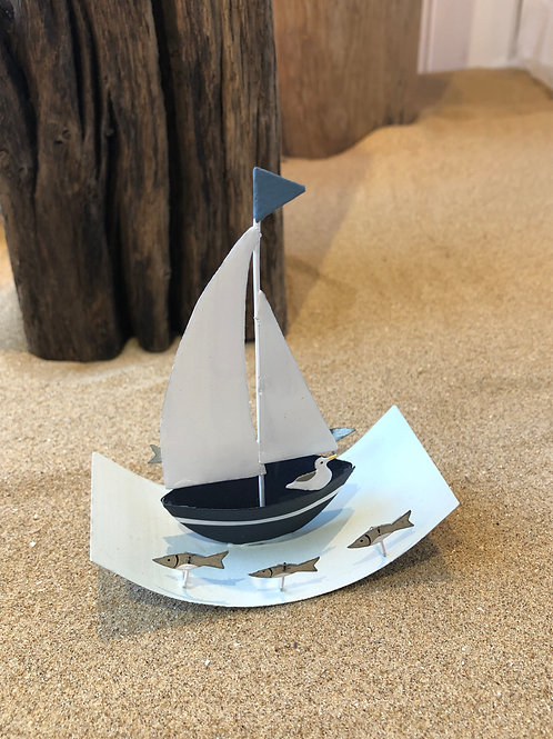 Small High Seas Sailboat Ornament