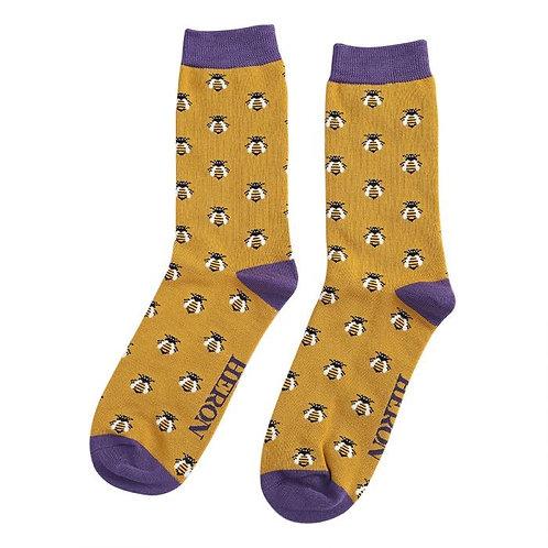 Mr Heron Honey Bee Socks