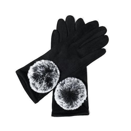 Ivy Gloves - Black