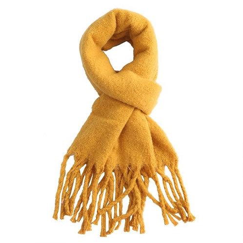 Mustard Winter Scarf