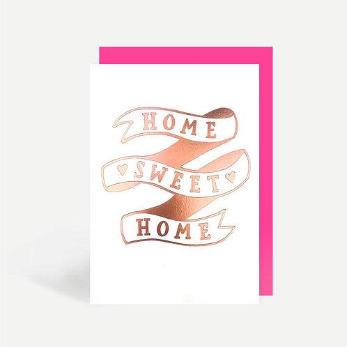 'Home Sweet Home' Foil Card