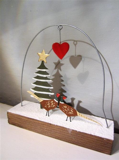J'adore Pheasants Christmas Decoration