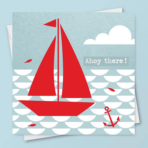 'Ahoy There!' Card