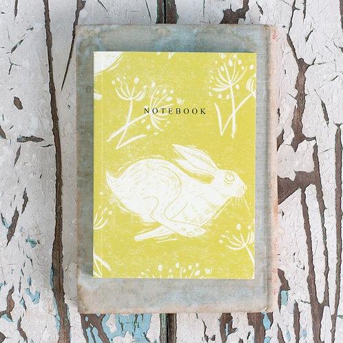 Sam Wilson A6 Notebook - Headlong Hare