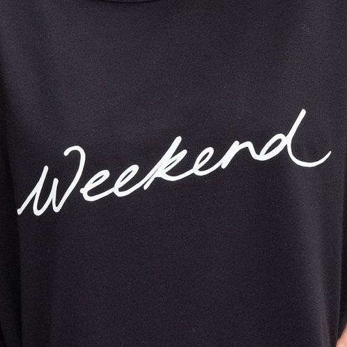 Chalk Nancy Sweatshirt - Black/Weekend
