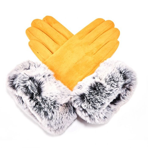 Fluffy Echo Gloves