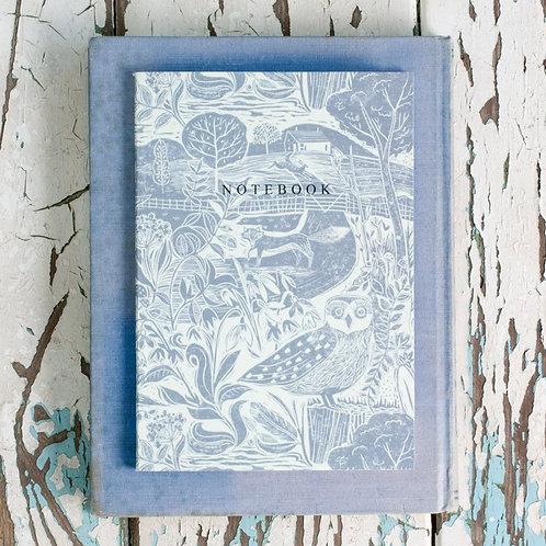 Sam Wilson A5 Notebook -Owl & Fox
