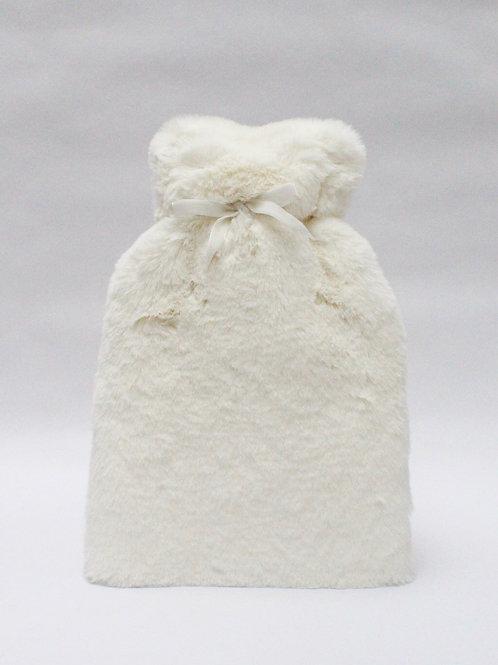 Chalk Teddy Fur Hot Water Bottle