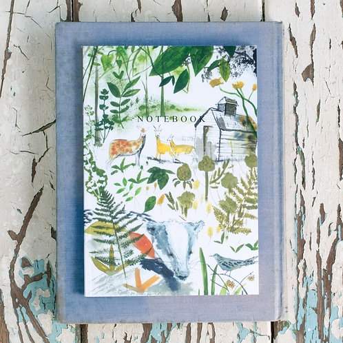 Sam Wilson A5 Notebook - In The Woods