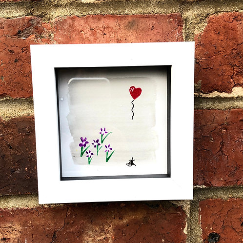Heart Balloon Print - Various Colours