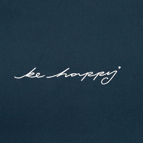 Chalk Robyn Top - Navy/Be Happy