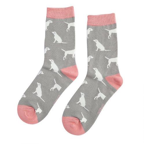 Miss Sparrow Labrador Socks