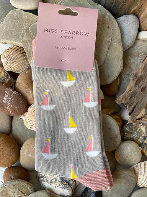 Little Boats Socks