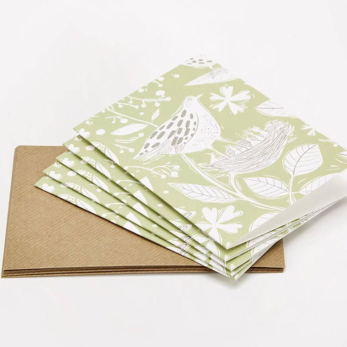 Sam Wilson Notecard Set (5) - Hedgerow