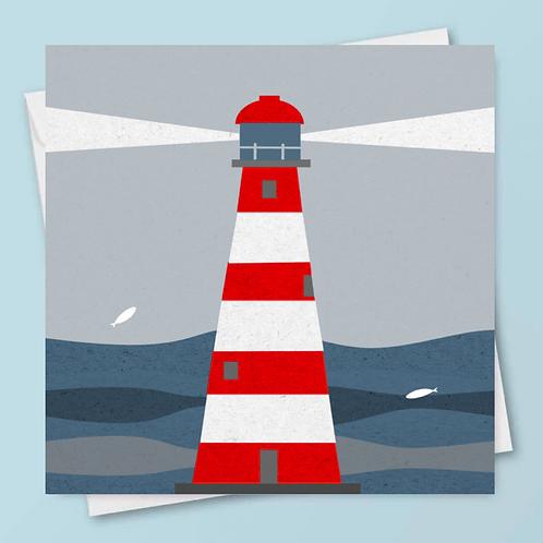 'Lighthouse' Card