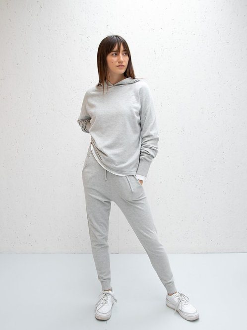 Chalk Lucy Lounge Pant - Silver