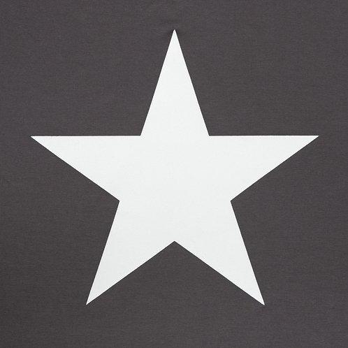 Chalk Robyn Top - Charcoal/White Star