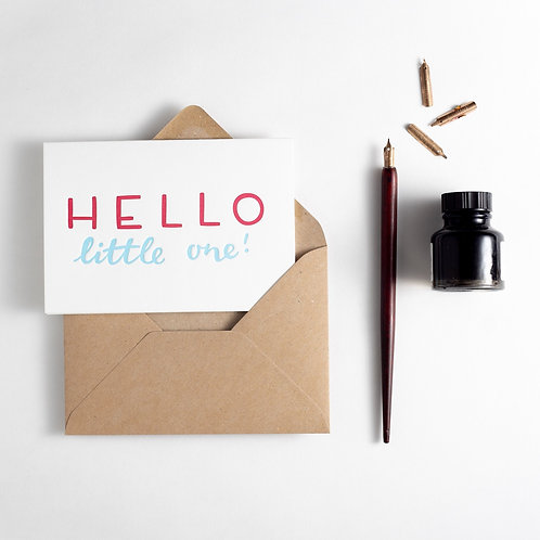 'Hello Little One!' Card