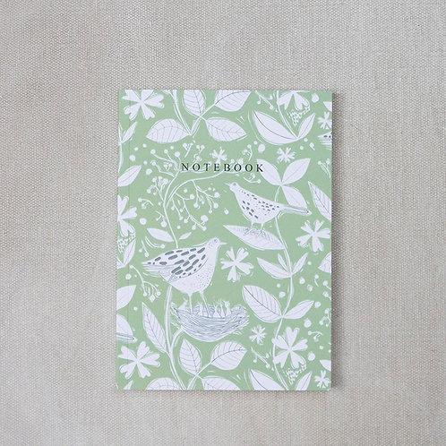 Sam Wilson A6 Notebook - Hedgerow